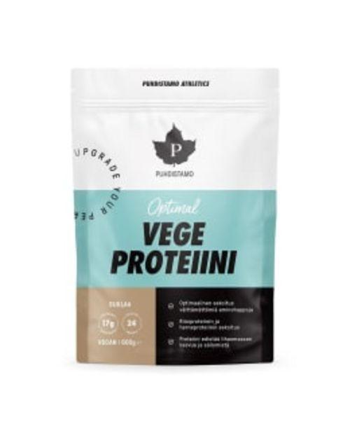 Puhdistamo Athletics Optimal Vege Suklaa 600 G Proteiini -tarjous hintaan 19,9€