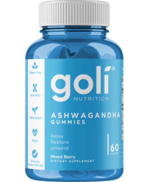 Goli Nutrition Ashwagandha Gummies 60 Kpl Ravintolisä -tarjous hintaan 31,9€