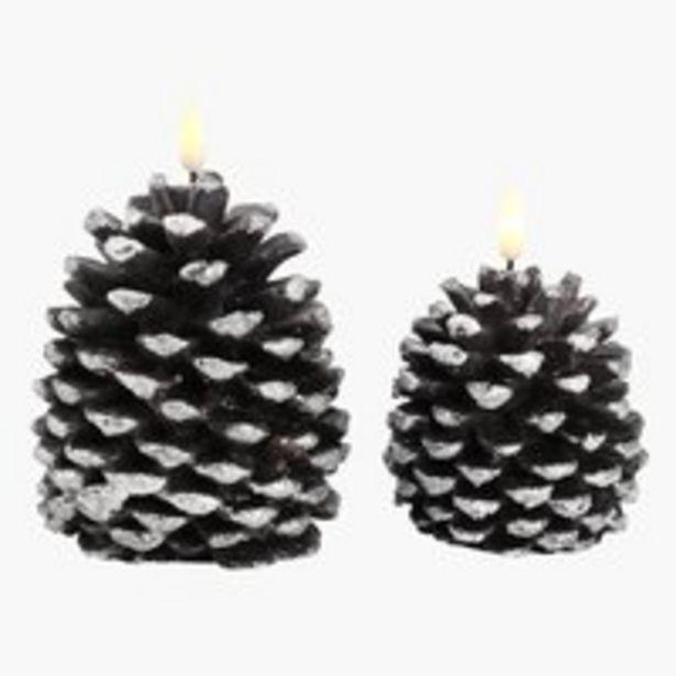 Kynttilä LOFN K12/14cm LEDillä 2kpl/pkt -tarjous hintaan 13,5€