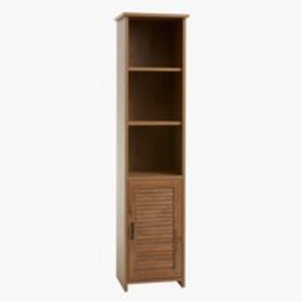Kirjahylly MANDERUP 1 ovi 3+1 hyllyä -tarjous hintaan 129€