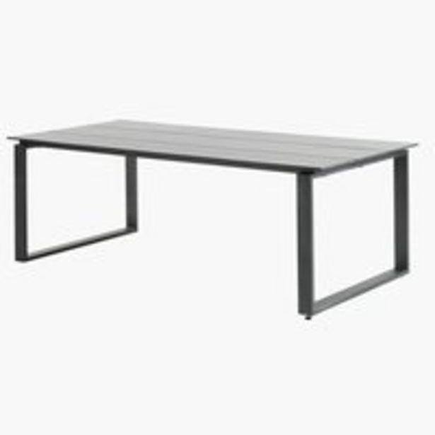 Pöytä KOPERVIK L100xP215 harmaa -tarjous hintaan 449€