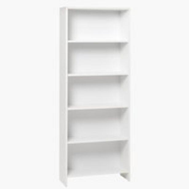 Kirjahylly GISLINGE 5 hyllyä valkoinen -tarjous hintaan 35€
