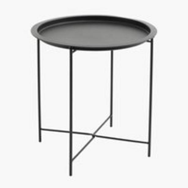 Sohvapöytä RANDERUP Ø47 musta -tarjous hintaan 15€