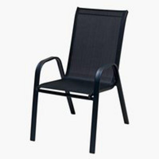 Pinottava tuoli LEKNES musta -tarjous hintaan 30€