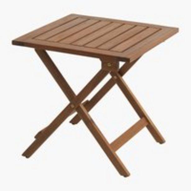 Sivupöytä UBJERG L46xP46xK46 kovapuu -tarjous hintaan 39,99€
