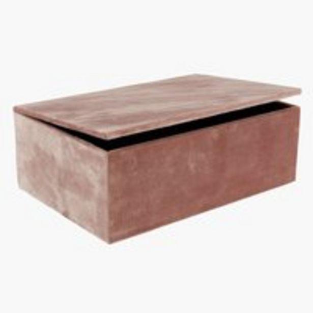 Säilytyslaatikko GREGERS L25xP17xK9 -tarjous hintaan 9,99€