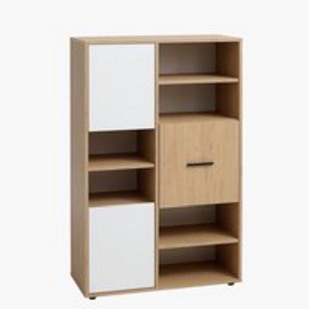 Kirjahylly BILLUND 3 ovea valkoinen/tam. -tarjous hintaan 159€