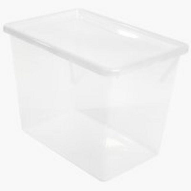 Säilytyslaatikko BASIC BOX 80L kannella -tarjous hintaan 12,5€