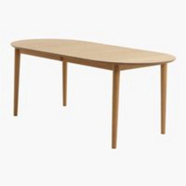 Ruokapöytä EGENS 90x190/270 tammi -tarjous hintaan 449€