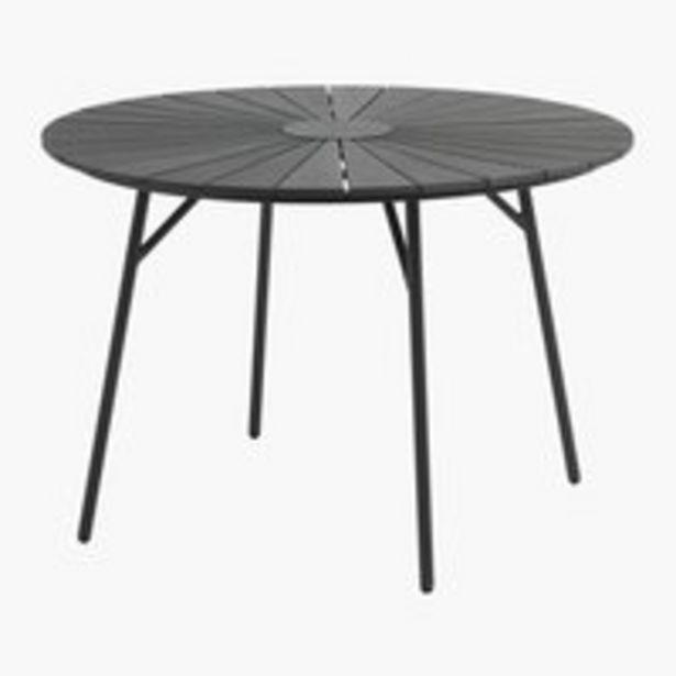 Pöytä RANGSTRUP Ø110 musta -tarjous hintaan 229€