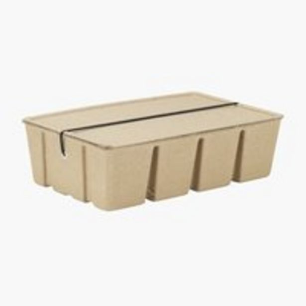 Säilytyslaatikko BJORK L28xP17xK8cm -tarjous hintaan 2€