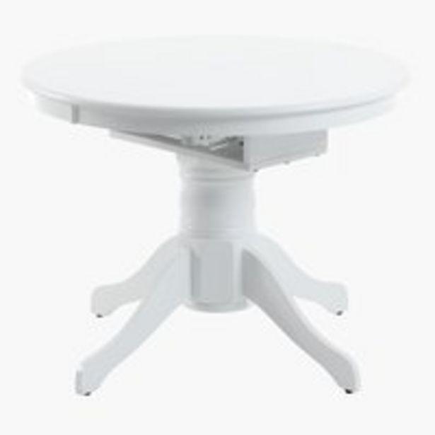 Ruokapöytä ASKEBY Ø100 lisälevyllä valk. -tarjous hintaan 299€