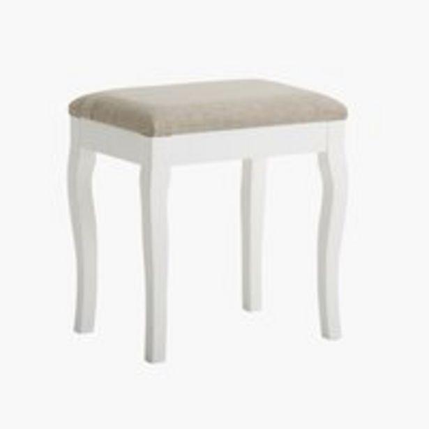 Tuoli MALLING valkoinen/beige -tarjous hintaan 35€
