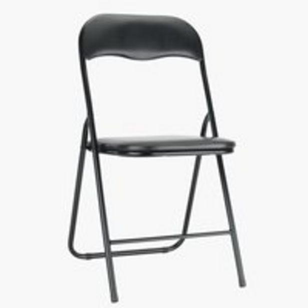 Kokoontaitettava tuoli VIG musta -tarjous hintaan 13,5€