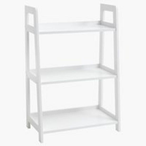 Kirjahylly HERNING 3 hyllyä valkoinen -tarjous hintaan 59,99€