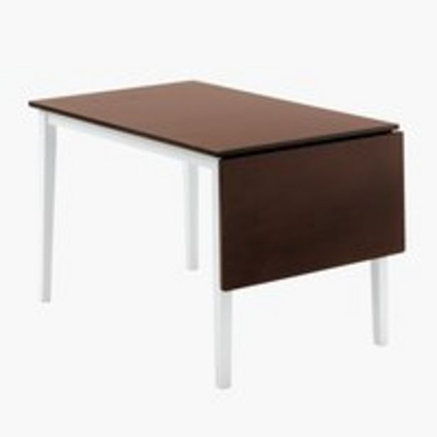 Ruokapöytä BRANDERUP 75x160 ruskea -tarjous hintaan 169€