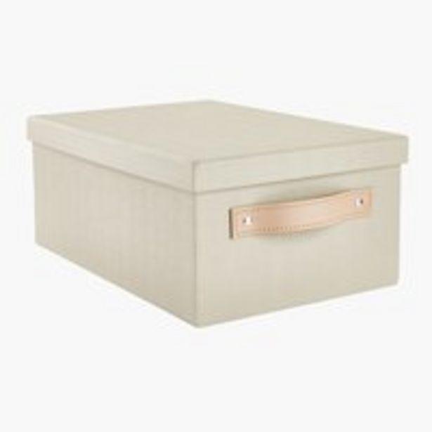 Säilytyslaatikko FJORDUR L23xP33xK14cm -tarjous hintaan 2€