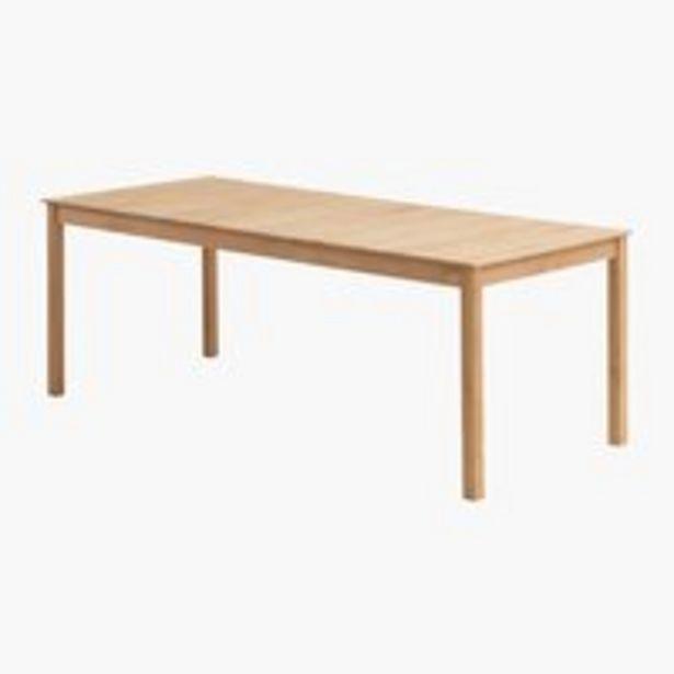Pöytä VESTERHAVET L90xP210 tiikki -tarjous hintaan 549€