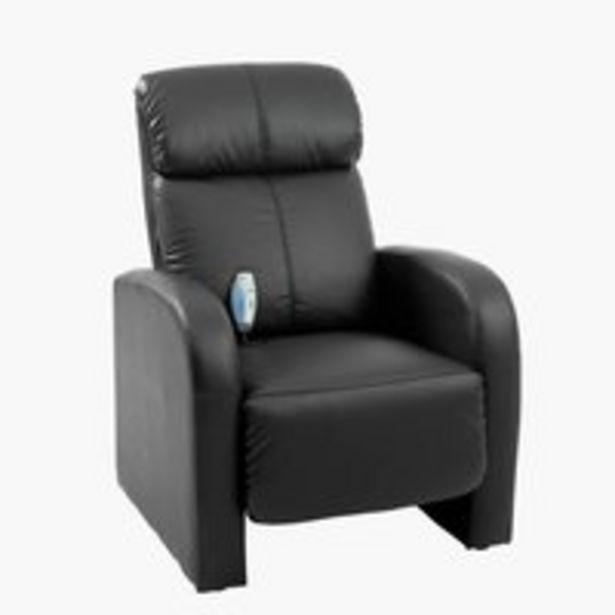 Hierova tuoli HOVBORG musta -tarjous hintaan 349€