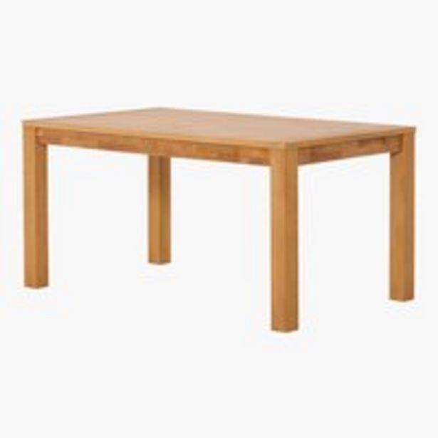 Ruokapöytä HAGE 90x150 tammi -tarjous hintaan 349€