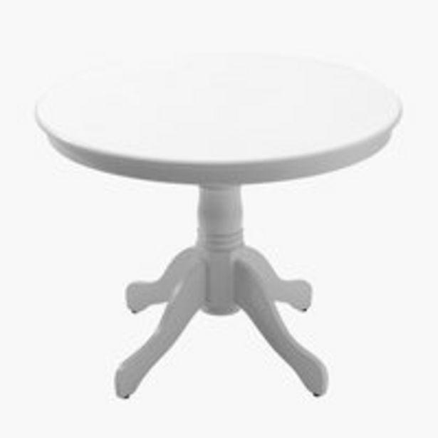 Ruokapöytä ASKEBY Ø100 valkoinen -tarjous hintaan 159€