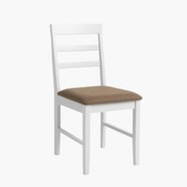 Ruokapöydän tuoli FARSTRUP valkoinen -tarjous hintaan 45€