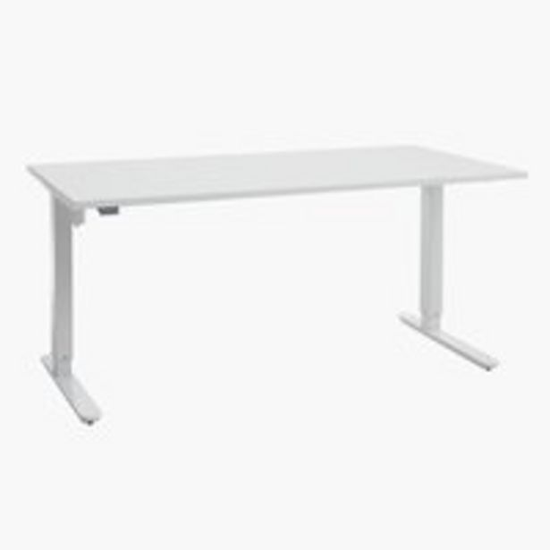 Korkeussäädettävä pöytä SLANGERUP 80x160 -tarjous hintaan 449€