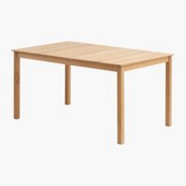 Pöytä VESTERHAVET L90xP150 tiikki. -tarjous hintaan 399€