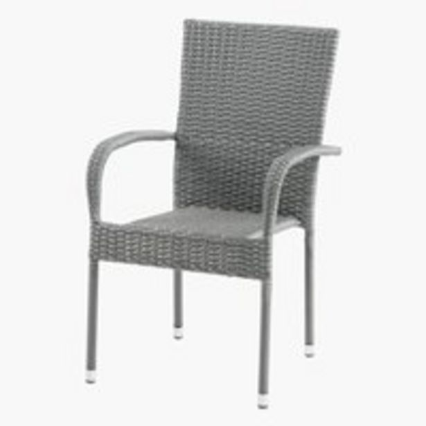 Pinottava tuoli GUDHJEM harmaa -tarjous hintaan 49,99€