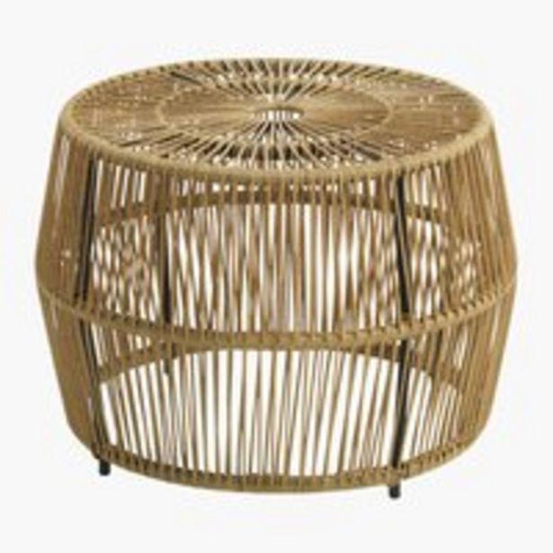 Sivupöytä JUNGLEDAL Ø50x40 puunvärinen -tarjous hintaan 109€