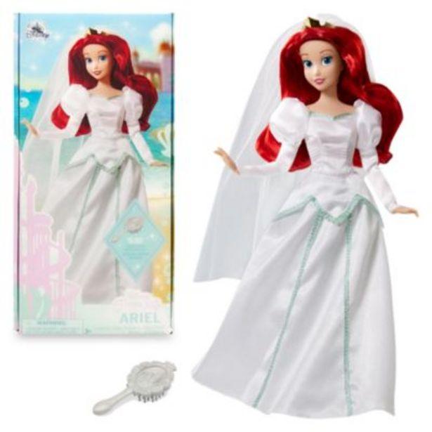 Disney Store Ariel Wedding Doll, The Little Mermaid -tarjous hintaan 17,9€
