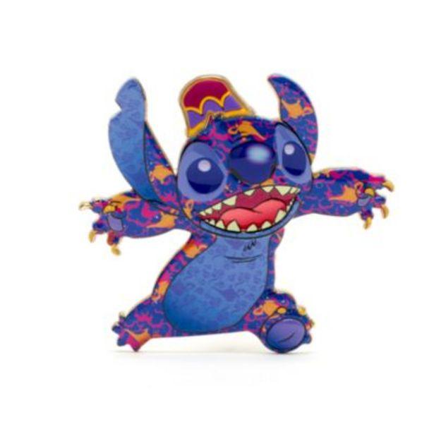 Disney Store Aladdin Stitch Crashes Disney Jumbo Pin, 6 of 12 -tarjous hintaan 22€
