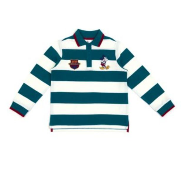 Disney Store Mickey Mouse Long Sleeve Striped Polo Shirt For Toddlers & Kids -tarjous hintaan 8,5€