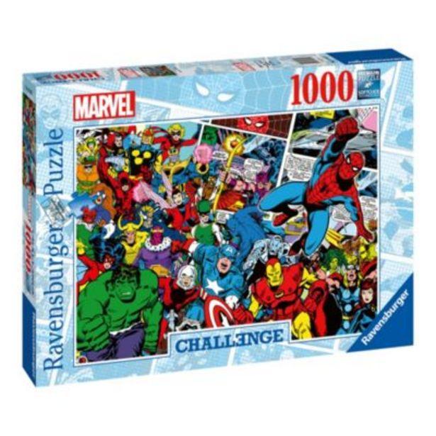 Ravensburger Marvel Challenge 1000 Piece Puzzle -tarjous hintaan 20€