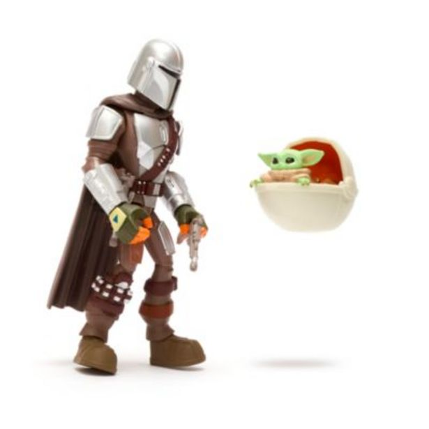 Disney Store Star Wars Toybox The Mandalorian and the Child Action Figure Set -tarjous hintaan 13€