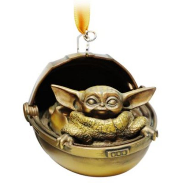 Disney Store The Child Bronze-Toned Hanging Ornament, Star Wars -tarjous hintaan 21€