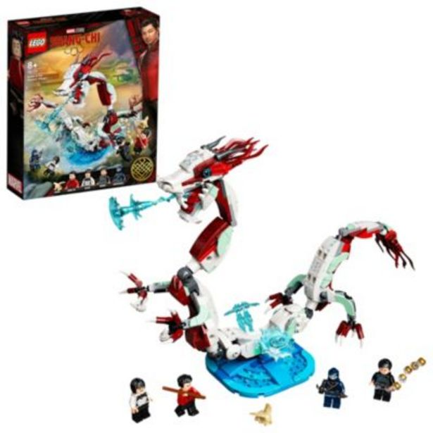 LEGO Marvel Battle at the Ancient Village Set 76177, Shang-Chi and the Legend of the Ten Rings -tarjous hintaan 40€