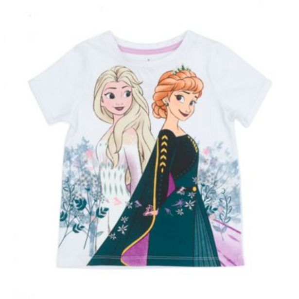 Disney Store Anna and Elsa T-Shirt For Kids, Frozen 2 -tarjous hintaan 10,5€