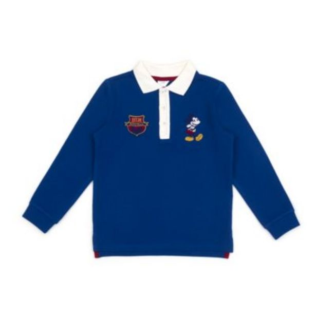 Disney Store Mickey Mouse Long Sleeve Polo Shirt For Toddlers & Kids -tarjous hintaan 8,5€