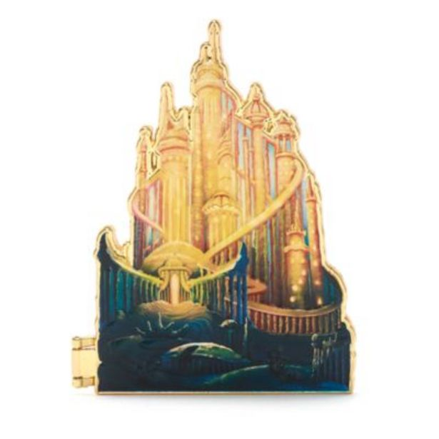 Disney Store Ariel Castle Collection Pin, 8 of 10 -tarjous hintaan 25€