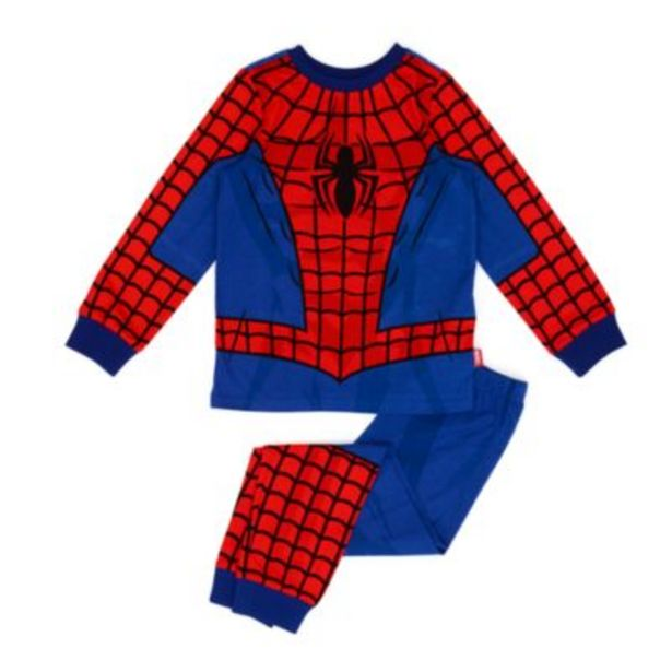 Disney Store Spider-Man Organic Cotton Costume Pyjamas For Kids -tarjous hintaan 22€