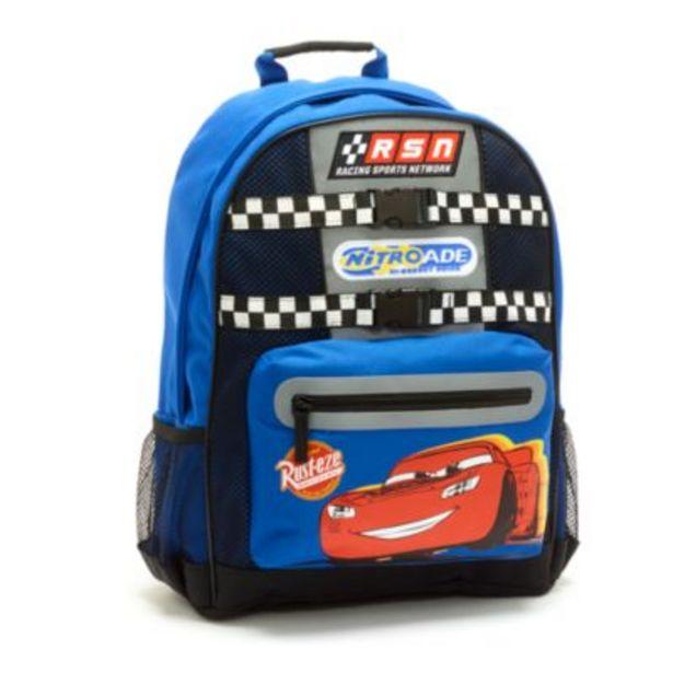 Disney Store Lightning McQueen Backpack, Disney Pixar Cars -tarjous hintaan 25€
