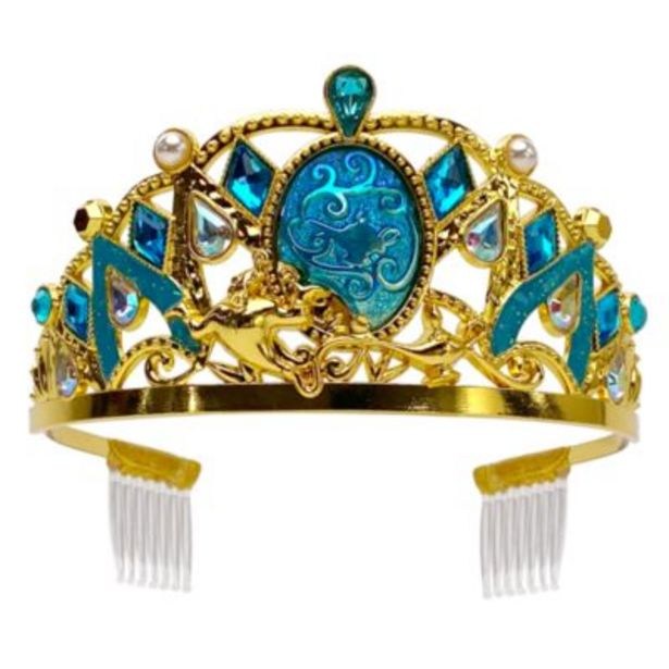 Disney Store Princess Jasmine Golden Costume Tiara, Aladdin -tarjous hintaan 20€