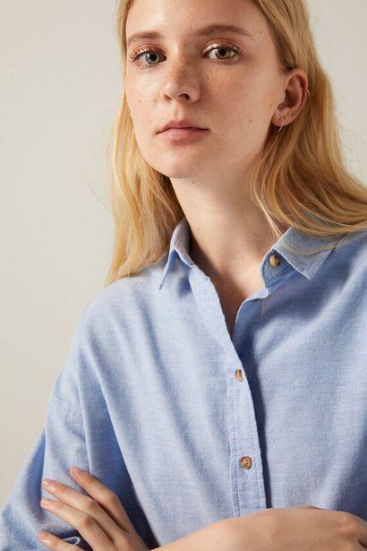 Oversize organic cotton Oxford blouse -tarjous hintaan 19,99€