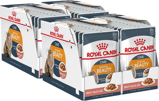 Royal Canin Intense Beauty kastikkeessa, 85 g, 48-PACK -tarjous hintaan 49,9€