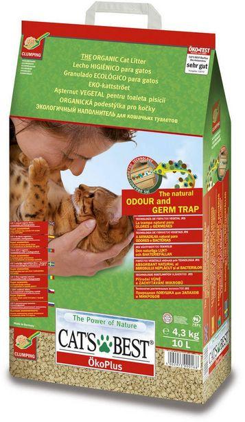 Cat´s Best Original -puupohjainen kissanhiekka, 4,3 kg -tarjous hintaan 9,9€