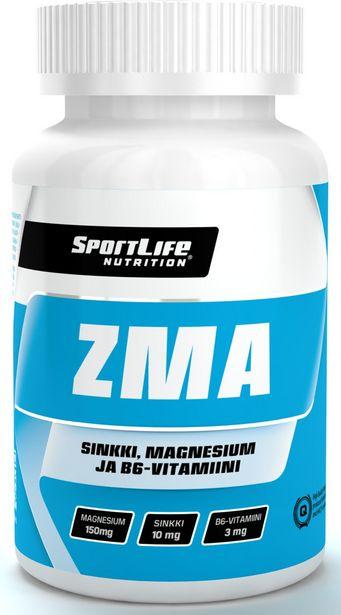 SportLife ZMA -kapseli, 100 kaps -tarjous hintaan 16,9€