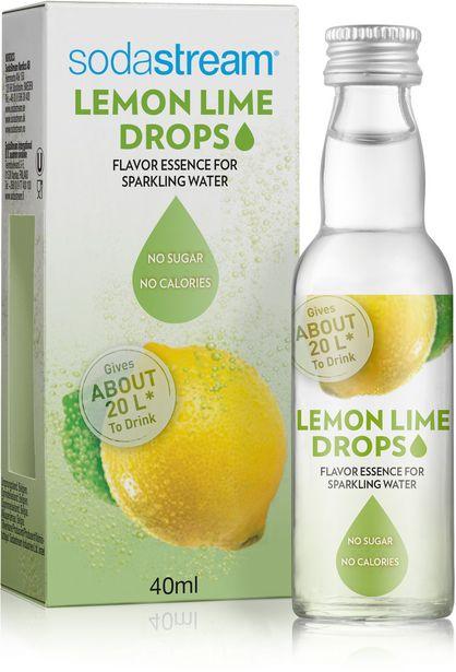 SodaStream Lemon Lime Drops, 40ml -tarjous hintaan 5,5€