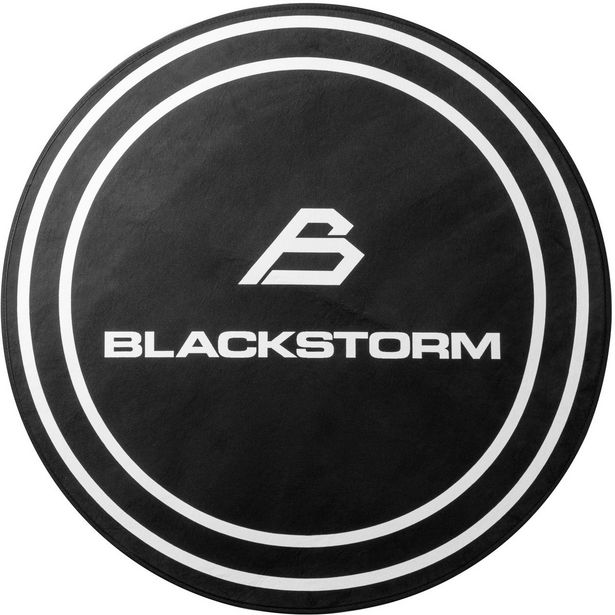 Blackstorm Dark Circle Floor Mat -lattiamatto, musta -tarjous hintaan 19,9€