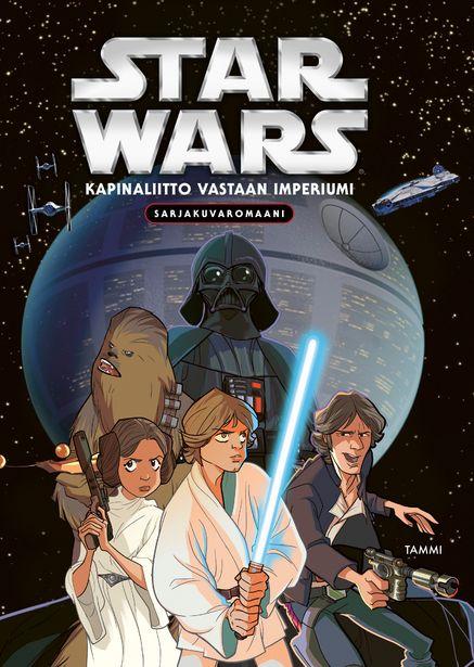 Star Wars Kapinaliitto vastaan imperiumi (sarjakuvaromaani) -tarjous hintaan 17,9€